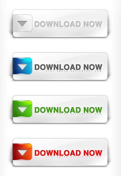 Conjunto de botones web gratuitos