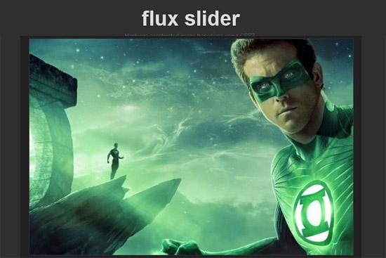 Flux Slider