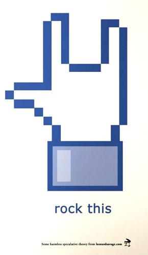 Iconos molones de Facebook