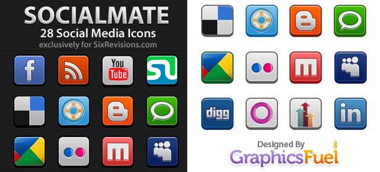 28 Iconos Social Media