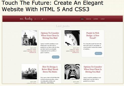 La guía más completa de HTML 5 y CSS 3