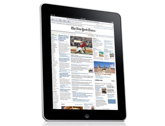 Una revista es un iPad que no funciona