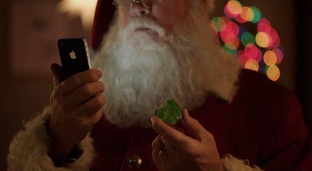 Papá Noel también utiliza iPhone 4S