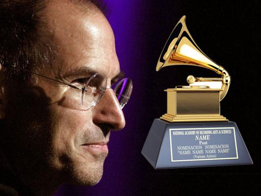 Steve Jobs gana un Grammy