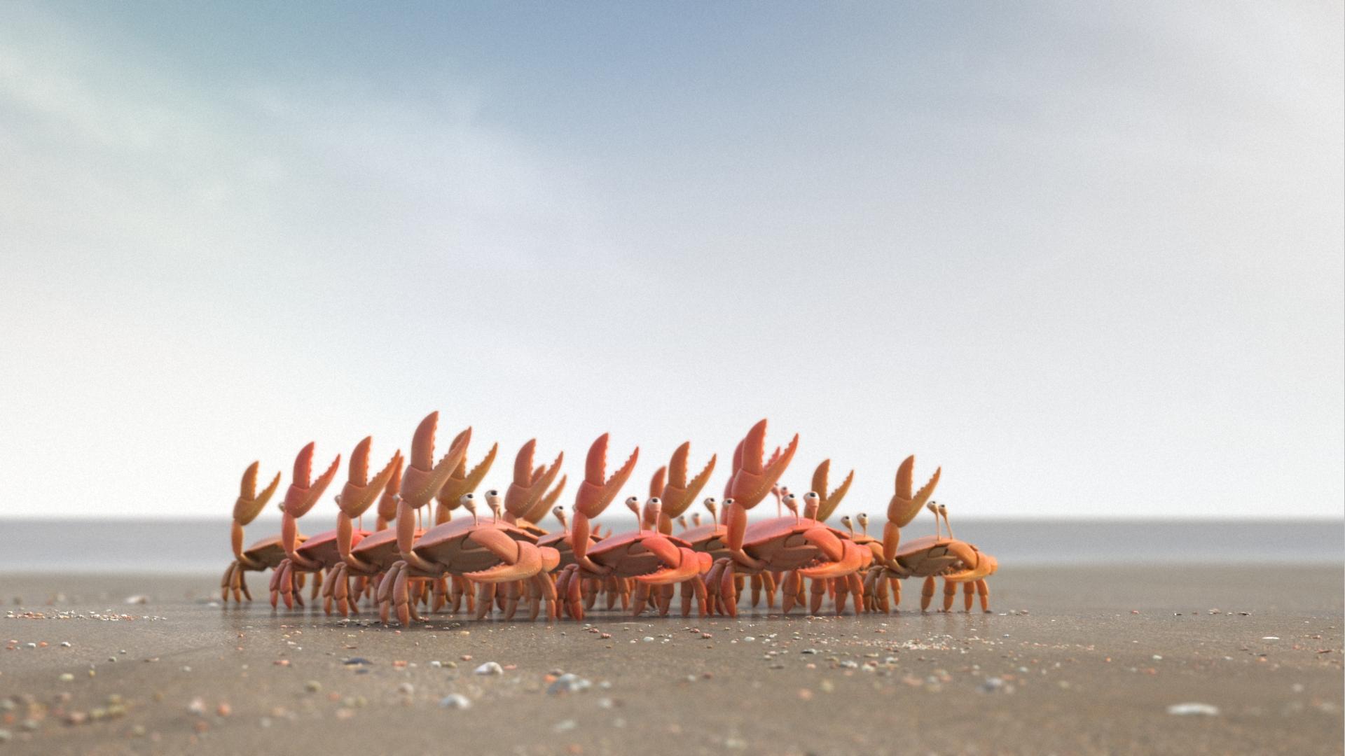 DeLijn crea un spot de cangrejos