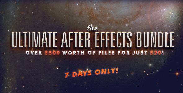 El Ultimate After Effects Bundle de Envato te va a sorprender