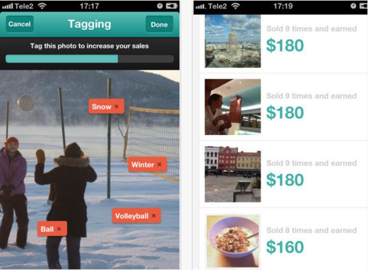 Foap: App para ganar dinero con tus fotos