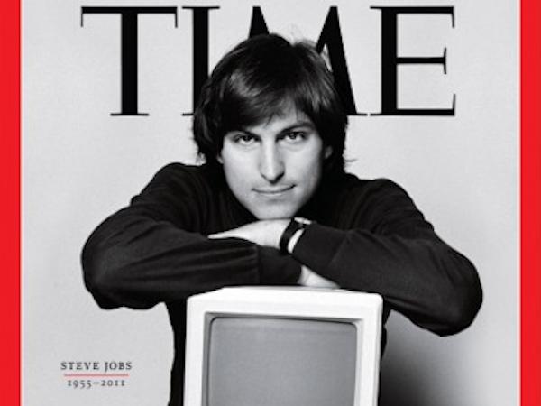 Portada de TIME de Steve Jobs