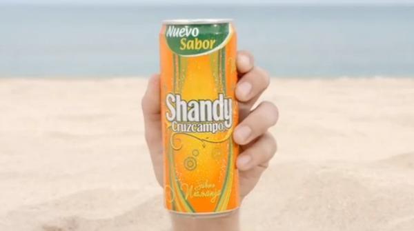 Lanzamiento al nuevo Shandy Naranja