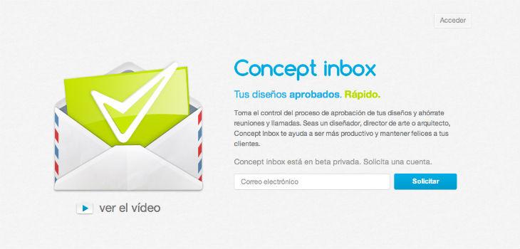 Concept Inbox: Cómo facilitar el proceso de aprobación de un diseño