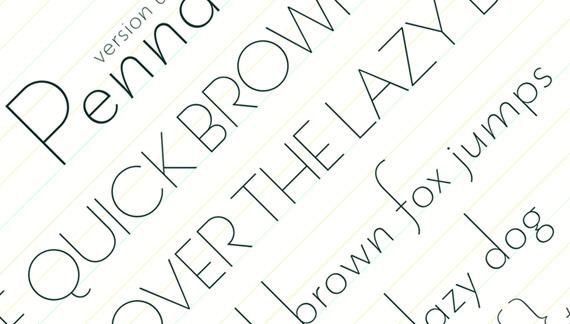20 Fuentes delgadas para diseños