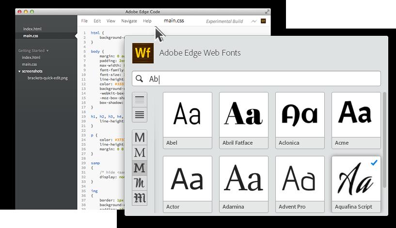 Adobe Edge Web Fonts, nuevo servicio gratuito de fuentes