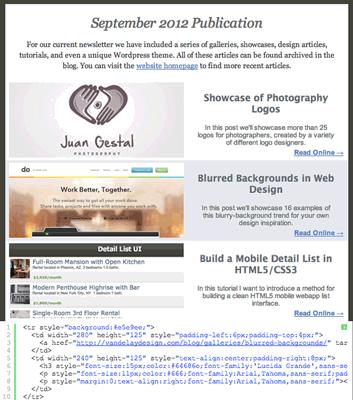 Tutorial: Newsletter con HTML y CSS