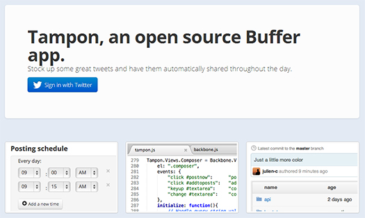 Tampon App, la solución Open Source a Buffer
