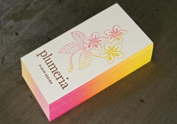 Tarjetas de Visita con diseños basados en bordes pintados