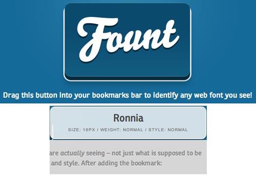 Fount: Fuentes tipográficas en cualquier web