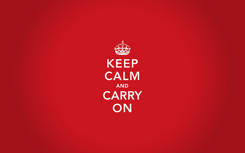 Conoces la Historia de Keep Calm And Carry On