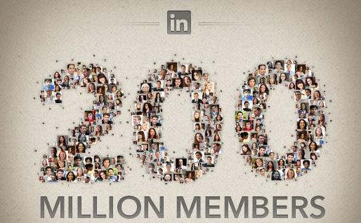 LinkedIn llega a los 200 millones de usuarios