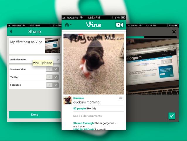 Vine, el nuevo servicio de Twitter para subir vídeos