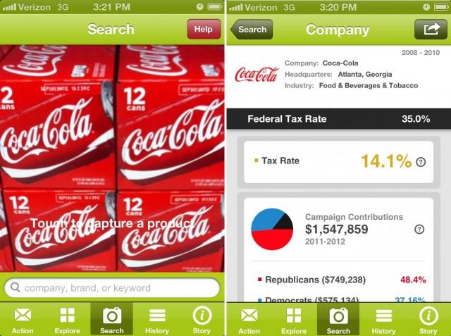 BizzVizz, una app que informa de la financiación de tus marcas a los partidos políticos