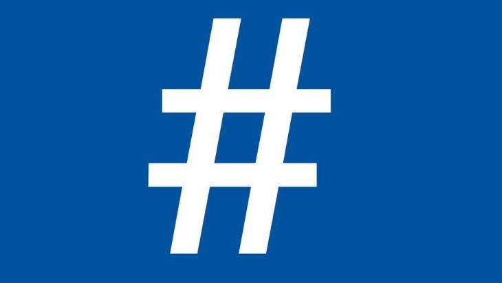 El hashtag de Twitter, ahora en Facebook