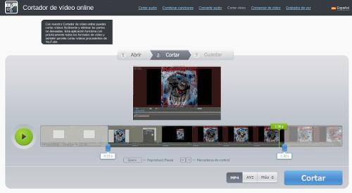 Editar Vídeos Online gracias al Cortador de Vídeo Online