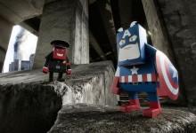 Paper Toy vídeo de Capitán América