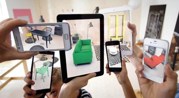 Aplicación de IKEA con realidad aumentada