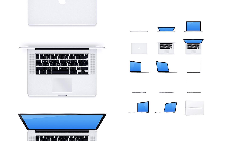 MacBook Pro – 15 Mockups gratuitos