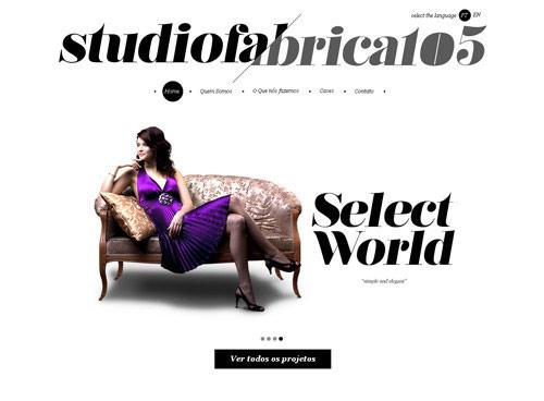 25 ejemplos de diseño web minimalista – Sep 2013