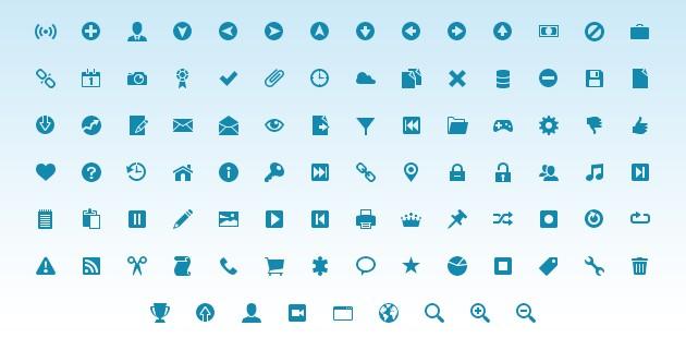 IconFont: 742 iconos para proyectos web