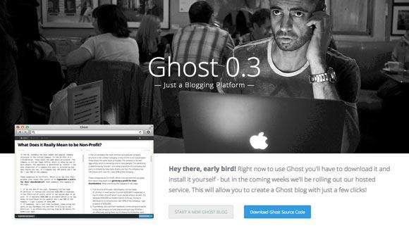 Ghost, la nueva plataforma para crear blogs, ya disponible al público