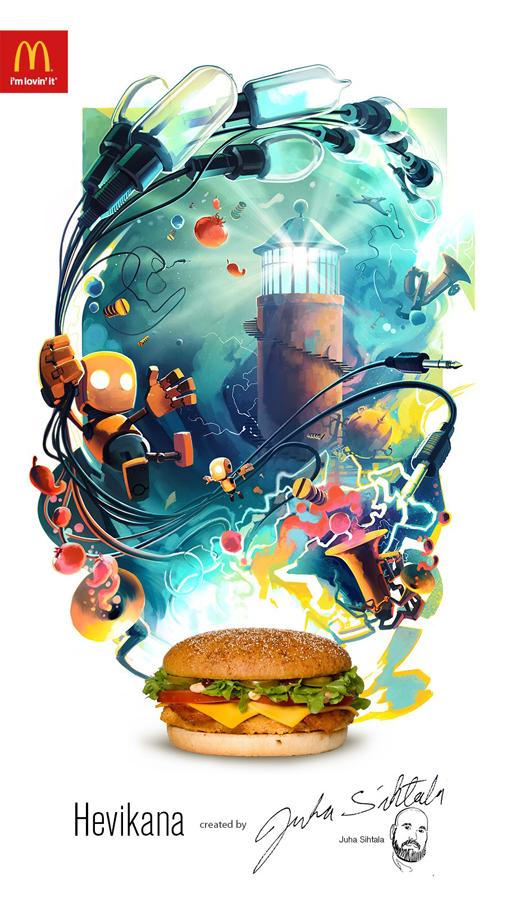 McDonald's Hevikana – La creatividad en el mundo de la comida rápida