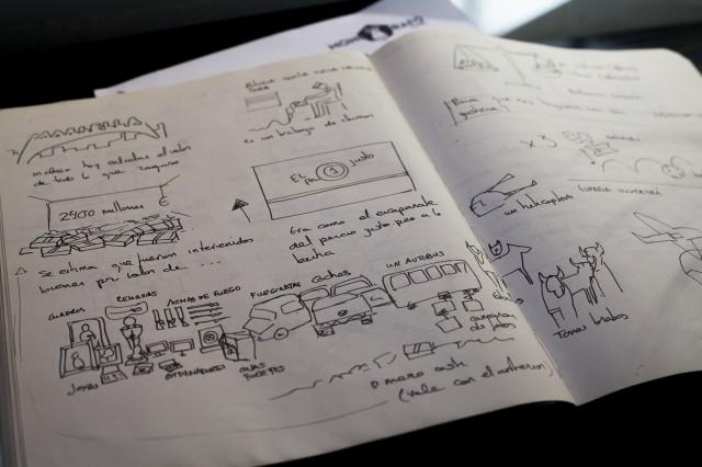 El Storyboard de creación de ESpañolisto