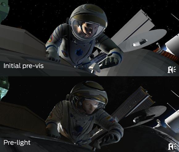 Los efectos visauels de Gravity