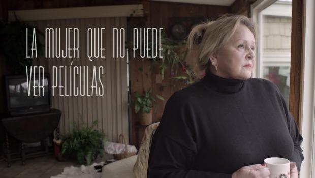 """""""La mujer que no puede ver películas"""", la campaña de Canal+ basada en una historia real"""