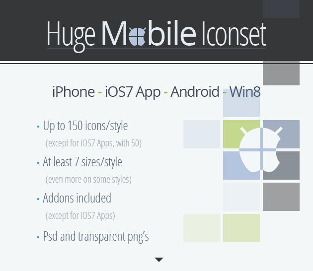 Nuevos iconos para smartphones