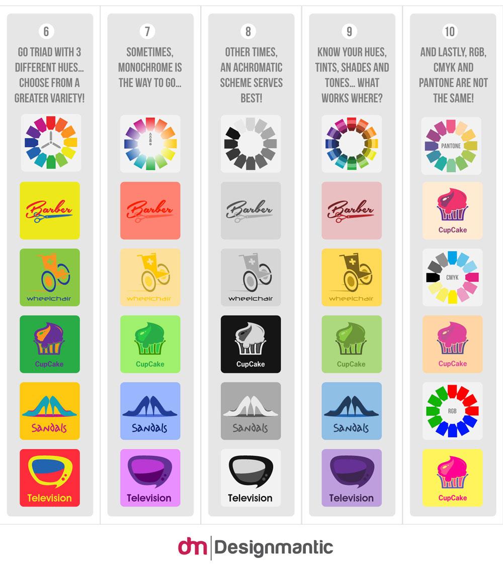 #Infografía: Los 10 mandamientos de la teoría del color