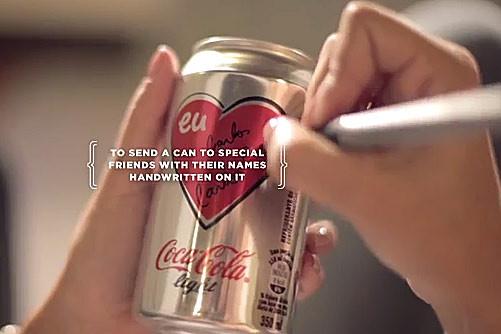 El primer amor nunca se olvida – Coca-Cola Light Brasil