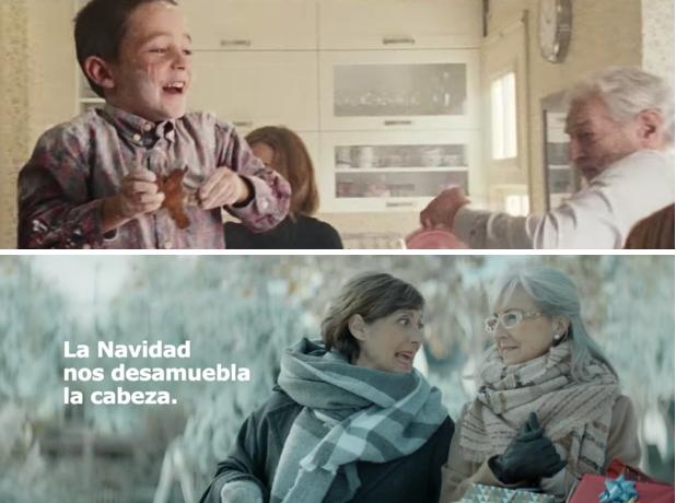 Ikea y #LaOtraNavidad, un nuevo spot
