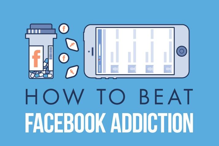 Cómo combatir la adicción a Facebook