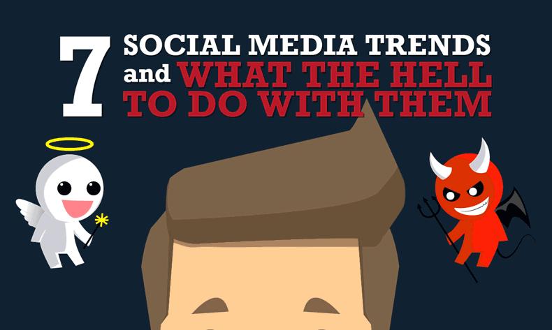 Las 7 tendencias en Social Media para 2015
