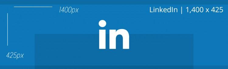Portada de LinkedIn Tamaño plantilla