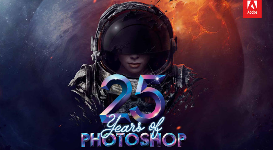 Un emotivo vídeo celebra los 25 años de Photoshop