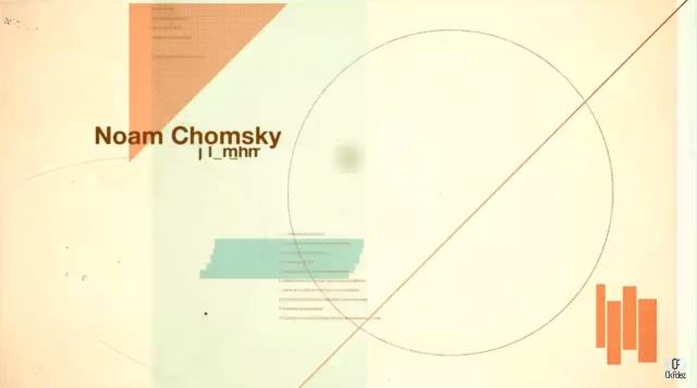 Noam Chomsky y su estrategia de manipulación mediática
