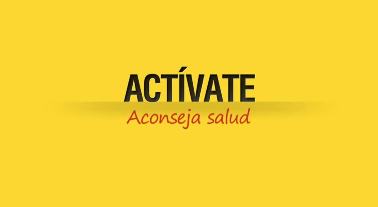 Actívate, aconseja salud