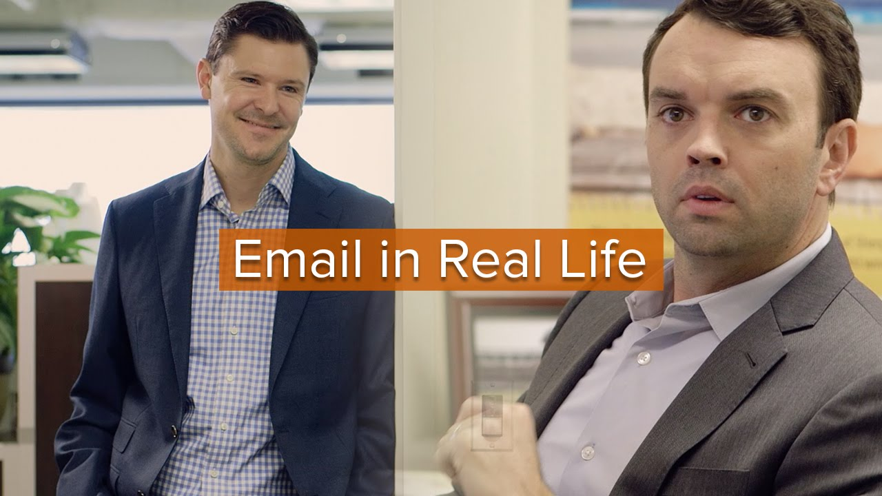 Trypp and Tyler presentan Email in Real life