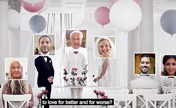 Si te quieres casar online, con Ikea lo consigues