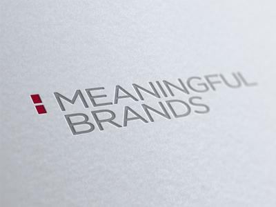 Meaningful Brands - cuando las marcas se preocuapron por la gente