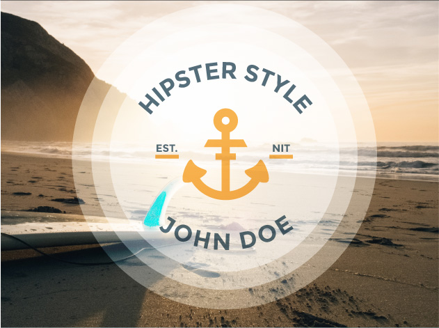 Set de Vectores de Hipsters Pack